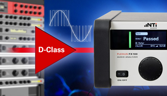 Easy testing of Class-D Amplifiers