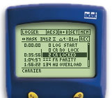 Digilyzer DL1 screen Event Logger