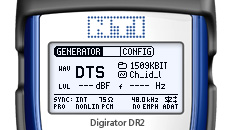 Digirator DR2 screen DTS