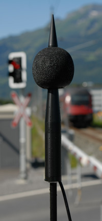 Outdoor Measurement Microphone