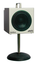 TalkBox on Stand