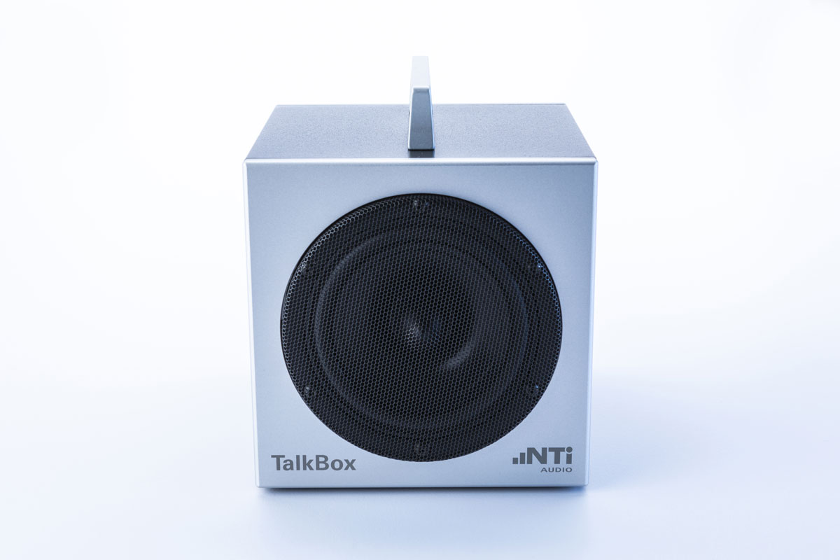 TalkBox - Acoustic Signal Generator I NTi Audio