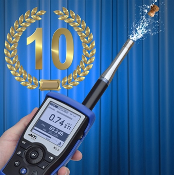 STIPA celebrates its 10th birthday at NTi Audio