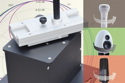 New Turntable for Measurement of Sound Directional Characteristics