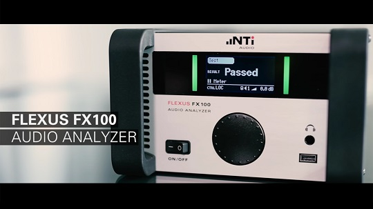 The FX100 Audio Analyzer: an extremely versatile tool.