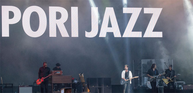 Pori Jazz Festival in Finland measures with NTi Audio