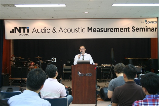Sovico stages NTi Audio seminar in Korea
