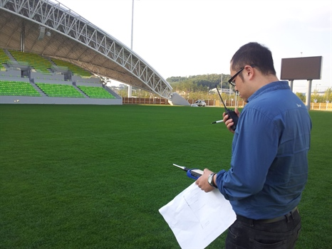 Namdong Stadium Commissioned for Asian Games 2014
