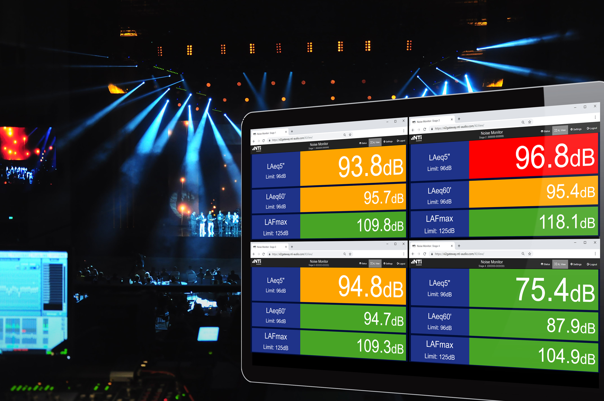 Complete Event Monitoring with the XL2 Sound Level Meter