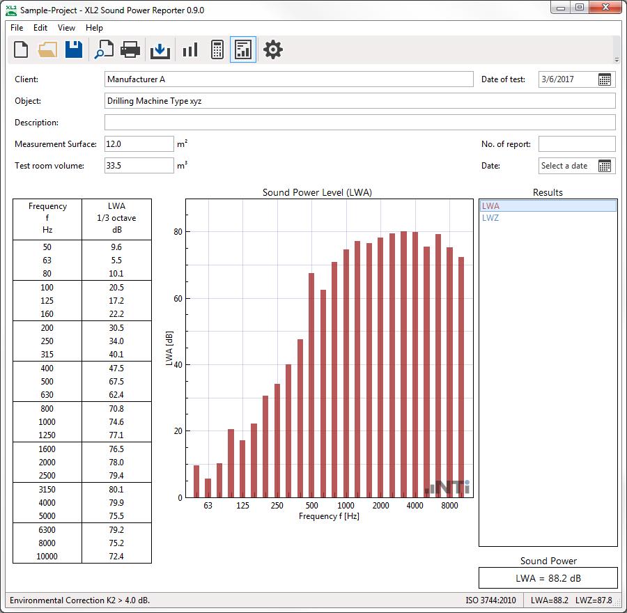 Options for XL2 Analyzer I NTi Audio