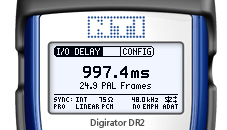 Digirator DR2 screen IO-Delay