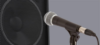 Test de microphones