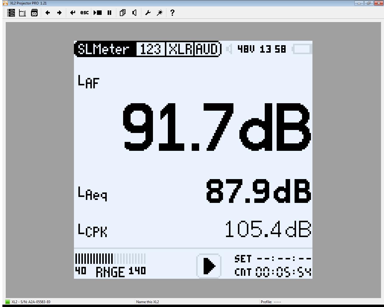 Projector PRO Software I NTi Audio