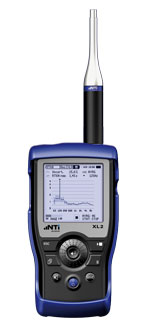 XL2 Acoustic Analyzer for RT60 Measurement
